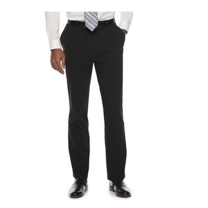 Men's Apt. 9® Slim-Fit Black Dress Pants